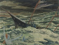 mermaid in the storm by henk melgers