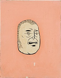 untitled (head) by barry mcgee