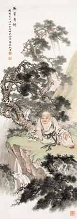 无量寿佛 by ma dai