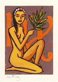 femme nue by jean-claude gotting