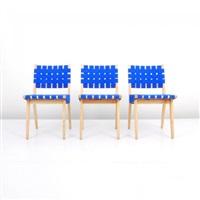 chairs (set of 3) by jens risom