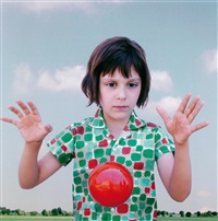 the red ball 1 by loretta lux