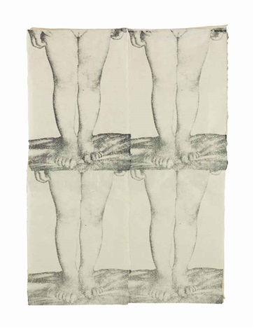 untitled babys legs by kiki smith
