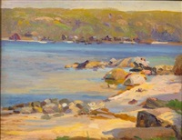 summer, cold spring harbor by joseph newman
