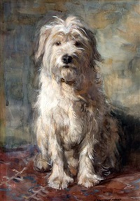 trouwe hond by johann jan zoetelief tromp
