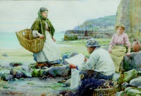 newlyn - catching up with the cornish telegraph by walter langley