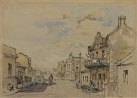 district six, street scene ii by gregoire johannes boonzaier
