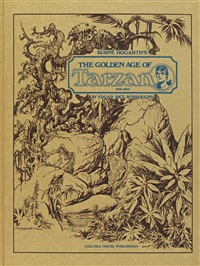 the golden age of tarzan (bk by maurice horn) by burne hogarth