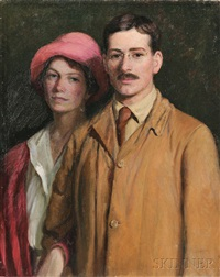Portrait of Edith Perry Ballantine and Edward. 18fa002f37358
