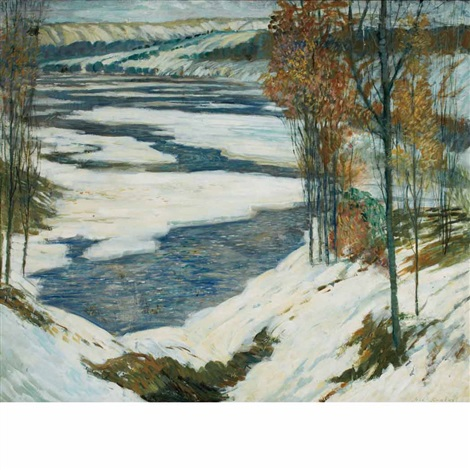 deerfield river by john r grabach