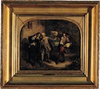don juan et le pauvre by louis-alexandre eustache-lorsay
