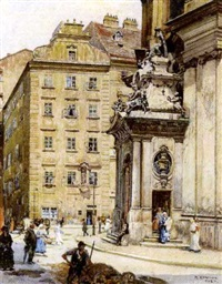 portal der peterskirche by rudolf konopa