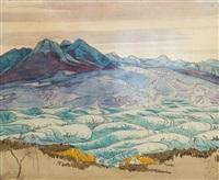 paysage de crimée by maximilian alexandrovich voloshin