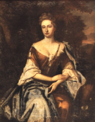 portrait of mary mrs anthony henley by jan van der vaardt