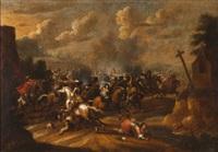 cena de batalha by jacques courtois