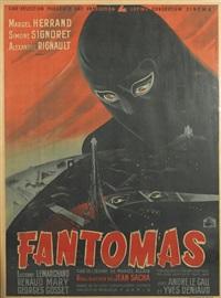 fantomas by j. fourastié