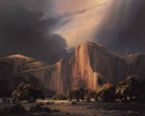 canyon de chelly by charles h pabst