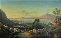 naples by achille solari