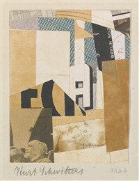 ohne titel, berlin s 03 (untitled, berlin s 03) by kurt schwitters