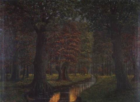 herbst im hasbruch by ludwig fischbeck