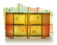'nobody's perfect' buffet cabinet by gaetano pesce