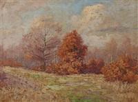 paysage d'automne by françois joseph