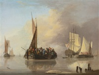 a ferry boat by jan van os