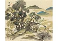 landscape by keisen tomita