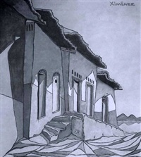 managua (diptych) by alfonso ximénez