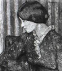 portrait de femme by paul renaudot
