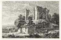 römische ruinenlandschaften (12 works) by johann philipp veith