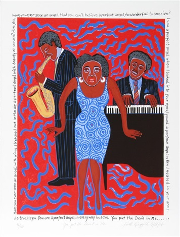 you put the devil in me by faith ringgold