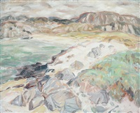 above lochinver by william george gillies