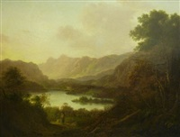 langdale pike westmorland by george smith of chichester