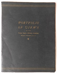 views of west point (7 works) by rudolph ruzicka