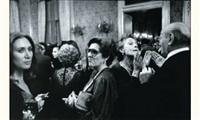 fête au palazzo ganci, palerme, sicile by franco zecchin