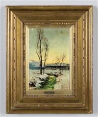 paesaggio invernale by francesco bosso
