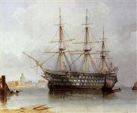 h.m.s. vincent by charles w. fothergill