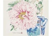 peony, seven gods of good fortune by chinami nakajima