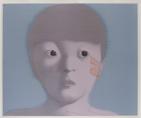 my memory no 1 by zhang xiaogang