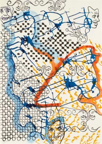 untitled masken by sigmar polke