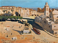 la place du gouvernement, alger by lucien martial