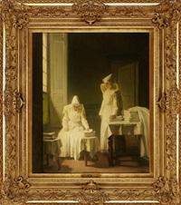 les lingères à l'hospice de beaune by joseph bail