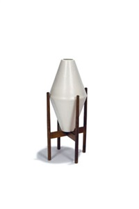 double cone planter with stand (model inw-02 & in-02) by la gardo tackett