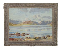 a west coast landscape by william mervyn glass
