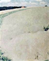 landscape in ulvenhout by cornelis kloos