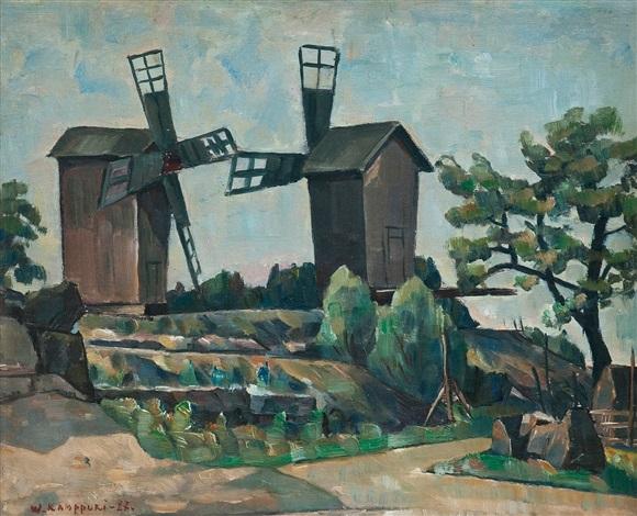 windmills by vaino kamppuri