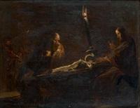 la découverte du deuteronome par le scribe shafan by leonard bramer
