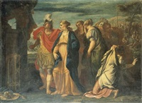 l'enlèvement d'hélène by agostino scilla