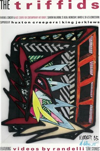 the triffids by howard arkley